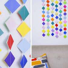 Diy 10 Wall Hanging Ideas To Decorate Your Home K4 Craft With Regard How Make Hangings Paper Step By