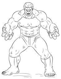 Free Hulk Kids Coloring Book