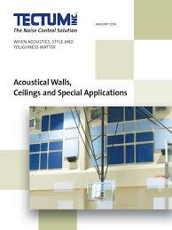 Tectum Ceiling Panels Sizes by 2014 Tectum Inc Interior Catalog Leadership In Energy And