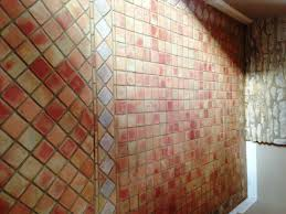 terracotta tile and grout cleaned following freezer leak dorset