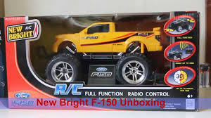 100 New Bright Rc Truck Remote Control Car Unboxing RC Ford F150 YouTube