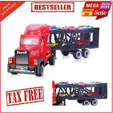 Car Transporter Toy Truck W/ 12 Metal Slideable Cars Christmas Gift ... 13 Top Toy Trucks For Little Tikes Ourwarm New Year27s Toys Vintage Red Metal Truck Kids Holiday Gifts 2019 Portable Large Container Alloy Trailer With 6 Cars Vehicle Playsets Wilkocom Free Shipping Russian Kamaz Military Model Diecast A Pcs Set Kidss Scale Machines Car Mini Best Choice Products Ride On Fire Truck Speedster Wvol Channel Electric Rc Remote Control Full Functional Christmas Gift With Movable Wheel The 15 Coolest Garbage For Sale In 2017 And Which Is Trucktank Trucks