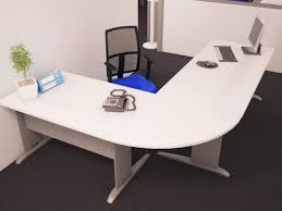 bureau angle blanc bureau angle design bureau grand bureau duangle design en verre