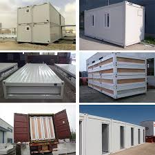 100 Luxury Container House Myanmar Sandwich Panel Steel Structure Prefab Modular