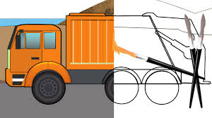 Garbage Truck | Coloring Book | Truck Video - YouTube Garbage Truck Videos For Children Big Trucks In Action Truck Learning Kids My Videos Pinterest Scary Formation And Uses Youtube Monster For Washing Bruder Surprise Toy Unboxing Collection Videos Adventures With Morphle 1 Hour My Magic Pet Video Kids Dumpster Pick Up L And Hour Long Tow Max Cars Lets Go The Trash