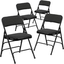 100 Folding Chair Art Flash Furniture 4Pack HERCULES Series Curved Triple Braced And