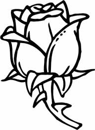 Stylist Inspiration Coloring Page Of A Rose Simple Color Sheet Easy To Roses Free Pages Sheets