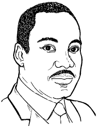 Martin Luther King Jr Coloring Sheet Coloring pages