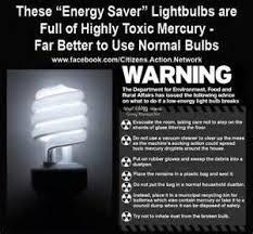 dangers of energy saving light bulbs iron