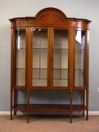 Antique Cabinets For Sale 09486r1 Edwardian Display Cabinet