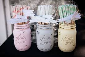Picture Of Creative Ways To Use Mason Jars On Your Wedding Day