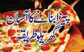 Pizza Recipe In Urdu Without Oven