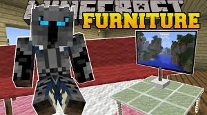minecraft furniture couches tables tv chairs ls more