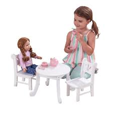 KidKraft Lil' Doll Table And Chair Set Table And Chair Set Fits 18 Dolls Diy Ding Chairs For American Girl Mentari Wooden Dollys Tea Party Setting Inclusive Of 2 By Mamagenius House Eames Kspring Thingiverse Pin On Lundby Dollhouse Room Miaimmiaturesbring Dolls Houses Back D1v15 Gazechimp 5pcs Simulation Miniature Fniture Toys Dollhouse Sets Baby For Kids Play Toy Kitchen Decor Hot New Butterfly Dressing Makeup Bedroom Disney Princess Royal Tea Party Playset Palace X 3 Sweet Vintage Wrought Iron Bistro With Extras