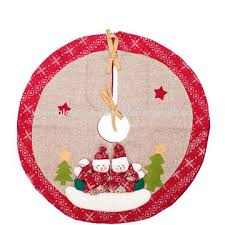 China 2018 Wholesale New Santa Claus Handmade Christmas Tree Skirts