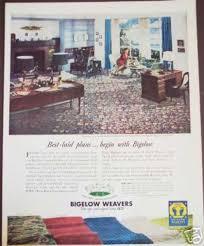 Bigelow Weavers Carpet Rugs Photo 1947