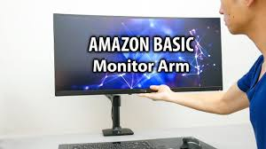 the best monitor arm for my ultrawide monitor amazon basic