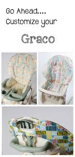 handmade and stylish replacement high chair covers for graco www