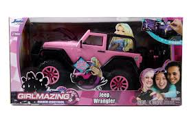 Jada Toys GIRLMAZING Big Foot Jeep R/C Vehicle (1:16 Scale), Pink ... Remote Control Toys Bopster Whosale Childrens Big Wheels Pick Up Monster Truck In 2 Colors Spiderman Toy Australia Pink Amazoncom Kids 12v Battery Operated Ride On Jeep With Blaze Starla Buy Online From Fishpondcomau And The Machines 21cm Plush Soft Kid Galaxy My First Rc Baja Buggy Toddler Car Ford Ranger Wildtrak 2017 Licensed 4wd 24v Power Dune Racer Free Shipping Today Overstock Popular Under 50 For Boys Girs Traxxas 110 Slash 2wd Rtr Tqi Ac Tra580345 Hot Jam Madusa Stunt Ramp 164 Scale