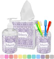 Girly Bathroom Accessories Sets by Baby Elephant Bathroom Accessories Set Personalized Potty