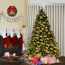 5Ft Artificial PVC Christmas Tree WStand Holiday Season Indoor