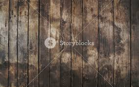 Old Vintage Aged Grunge Dark Brown And Gray Wooden Floor Planks Texture Background With Stains Nails