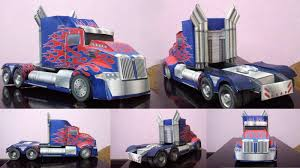100 Transformer Truck Wongday Papercraft Truck Age Of Extinction AOE