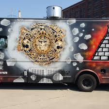 100 Chicago Food Trucks Aztec Daves Food Truck Roaming Hunger