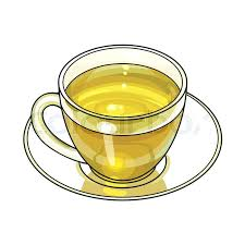 Coffee Cup Clip Art Transparent Green Tea Drink In Glass Mug And Saucer Sketch Vector Illustration Isolated On White Background Hand Drawn