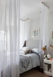 Twin Canopy Bed Drapes by Best 25 Curtains Around Bed Ideas On Pinterest Enclosed Bed