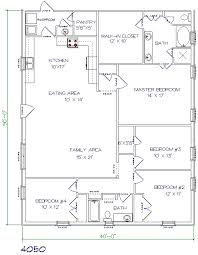 Photo Of Floor Plan For 2000 Sq Ft House Ideas by Top 5 Metal Barndominium Floor Plans For Your Home Hq