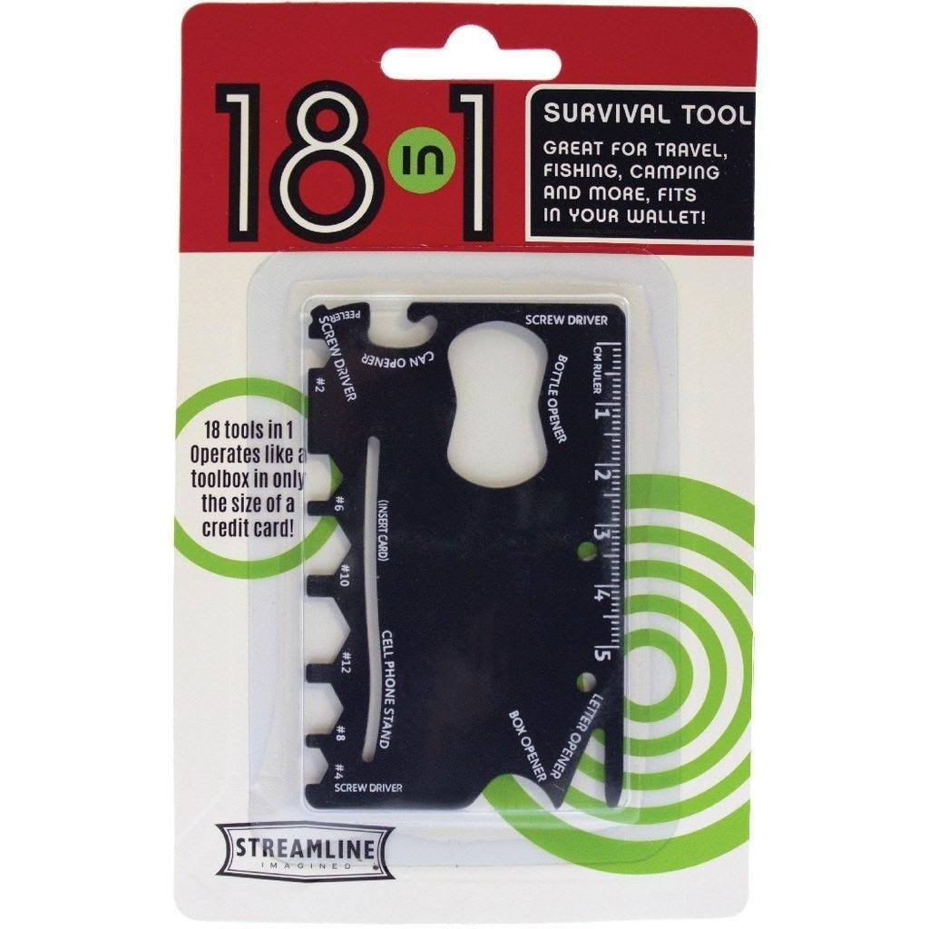 Streamline 18 in 1 Survival Pocket Tool