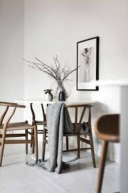 small dining area ikea docksta table hans wegner wishbone