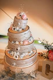 Log Tree Cake Rustic Family Farm Festival Wedding Amylouphotographyco