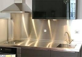 cuisine alu credence inox adhesive cool design ideas credence alu plakinox