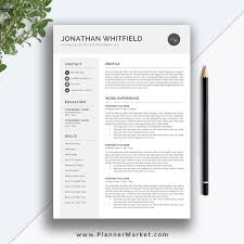 Resume Template, 3 Page CV Template, Professional Resume Design, Cover  Letter, MS Word, Instant Download, The Jonathan Resume Creative Resume Printable Design 002807 70 Welldesigned Examples For Your Inspiration Editable Professional Bundle 2019 Cover Letter Simple Cv Template Office Word Modern Mac Pc Instant Jeff T Chafin Templates Free And Beautifullydesigned Designmodo The Best Of Designwriting Samples Graphic Mariah Hired Studio Online Builder A Custom In Canva