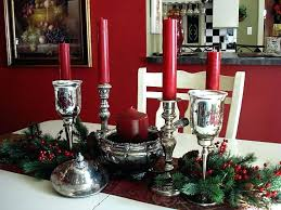 Christmas Dining Table Centerpiece Room Awesome Centerpieces