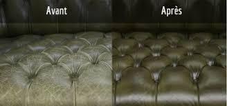 restaurer un canapé vente de produits pour l entretien du cuir d ameublement