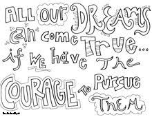 All Quotes Colouring Pages Doodle Art Alley
