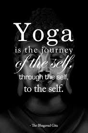 Yoga Mantra Of The Day Is Journey