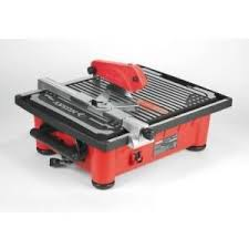 home depot tile saw husky 7 in tile saw with laser thd750l at the home depot