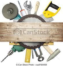 Construction Tools Stock Photo