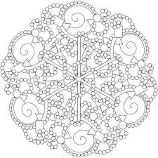Candy And Sweet Mandala Coloring Pages