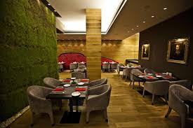 interiors canapé of architecture green wall with living grass as part of the
