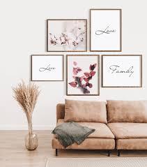 bilderset live family dekoration bilder poster