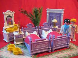 playmobil schlafzimmer lila 5325 nostalgie puppenhaus rosa