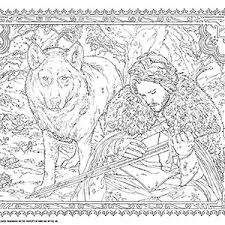 Game Of Thrones Coloring Book Additional Image