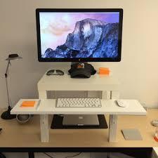Monitor Shelf For Desk by Working To Walk Designing My Walking Desk K9 Ventures