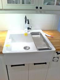 Ikea Domsjo Double Sink Cabinet by Ikea Farmhouse Kitchen Sink Sink Double Drainboard Sink Farmhouse