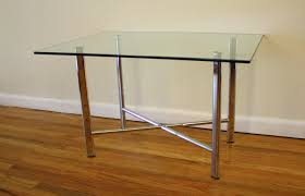 Maitland Smith Kidney Desk by Mid Century Modern Glass And Chrome Tables Picked Vintage